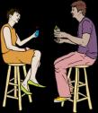 coupleinbartalking